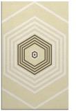 rug #1278255 |  yellow geometry rug