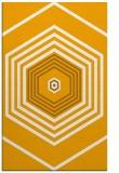 rug #1278287 |  light-orange retro rug