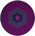 rug #1278335 | round pink retro rug