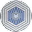 rug #1278349 | round retro rug