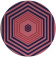 rug #1278392 | round retro rug