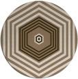 rug #1278459 | round beige geometry rug