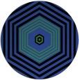 rug #1278503 | round black retro rug