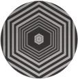 rug #1278523 | round orange rug