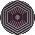 rug #1278555 | round purple retro rug