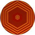 rug #1278563 | round orange rug