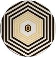 rug #1278603   round brown retro rug