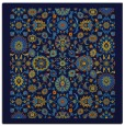 rug #1279067 | square blue borders rug