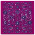 rug #1279071 | square blue damask rug