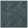 rug #1279075 | square blue-green traditional rug