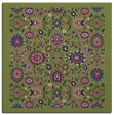 rug #1279079 | square blue traditional rug