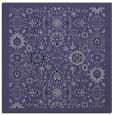 rug #1279123 | square blue-violet borders rug