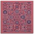 rug #1279127 | square blue-violet borders rug