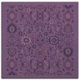 rug #1279131 | square blue-violet damask rug