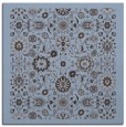 rug #1279143 | square blue-violet damask rug