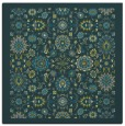 rug #1279167 | square green traditional rug