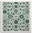 rug #1279171 | square green traditional rug