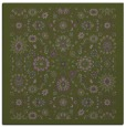 rug #1279175 | square green traditional rug