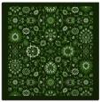 rug #1279179   square green rug