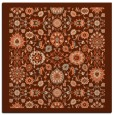 rug #1279259 | square red-orange traditional rug