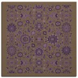 rug #1279287 | square purple damask rug
