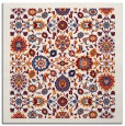 rug #1279295 | square red traditional rug
