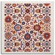 rug #1279295 | square red damask rug