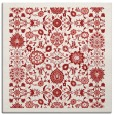 rug #1279303 | square red traditional rug