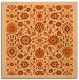 rug #1279315 | square red-orange traditional rug