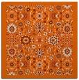 rug #1279323 | square red-orange borders rug