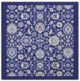 rug #1279335 | square blue damask rug