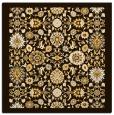 rug #1279339   square brown borders rug
