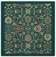 rug #1279371 | square yellow traditional rug