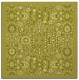 rug #1279375 | square light-green damask rug