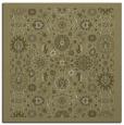 rug #1279387 | square light-green borders rug