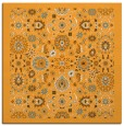 rug #1279395 | square light-orange borders rug