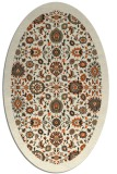 rug #1279427 | oval black borders rug