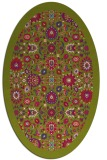 rug #1279526 | oval traditional rug