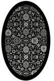 rug #1279551 | oval black borders rug