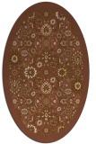 rug #1279556 | oval borders rug