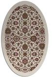 rug #1279565 | oval traditional rug