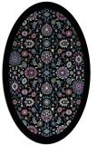 rug #1279607 | oval borders rug