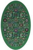 rug #1279610 | oval borders rug