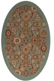 rug #1279630 | oval traditional rug