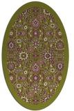 rug #1279651 | oval purple borders rug