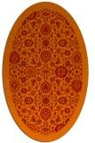 rug #1279667 | oval red popular rug