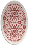 rug #1279671 | oval red traditional rug