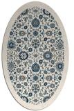 rug #1279716 | oval borders rug
