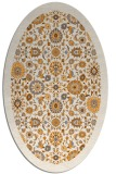 rug #1279767 | oval white borders rug