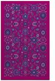 rug #1279807 |  blue damask rug